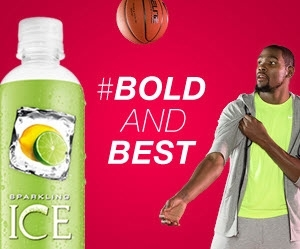 Kevin Durant Sparkling Ice