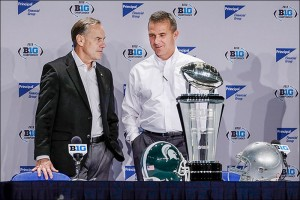 Urban Meyer, Mark Dantonio