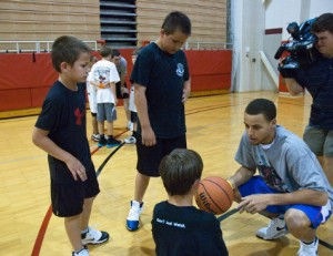 Stephen Curry basketball camp