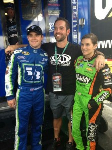Rich Froning and Danica Patrick Agent