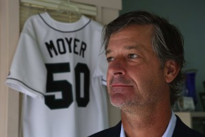 Former Seattle Mariners pitcher Jamie Moyer at his foundation's Magnolia headquarters, Thurs., Aug. 6, 2015, in Seattle. The Moyer Foundation has made Jamie a beloved Seattle athlete as much as what he did on the field. (Ken Lambert / The Seattle Times)