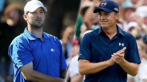 Tony Romo and Jordan Spieth