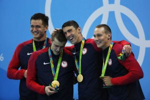 Booking USA Olympic Athletes