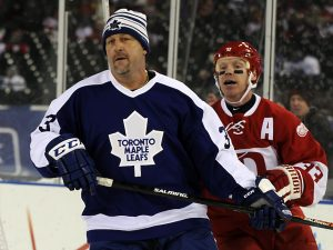 Detroit Red Wings Alumni v Toronto Maple Leafs Alumni